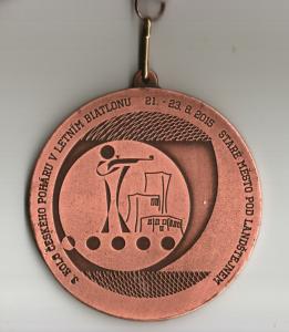 3. kolo Českého poháru v letním biatlonu 2015 - Staré Město pod Landštejnem